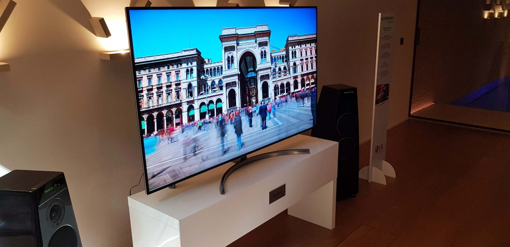 TV LG Super UHD: i prezzi italiani dei modelli del 2018