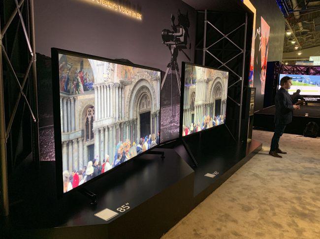 TV 8K Sony ZG9: ci vogliono 80.000 euro per il modello da 98''