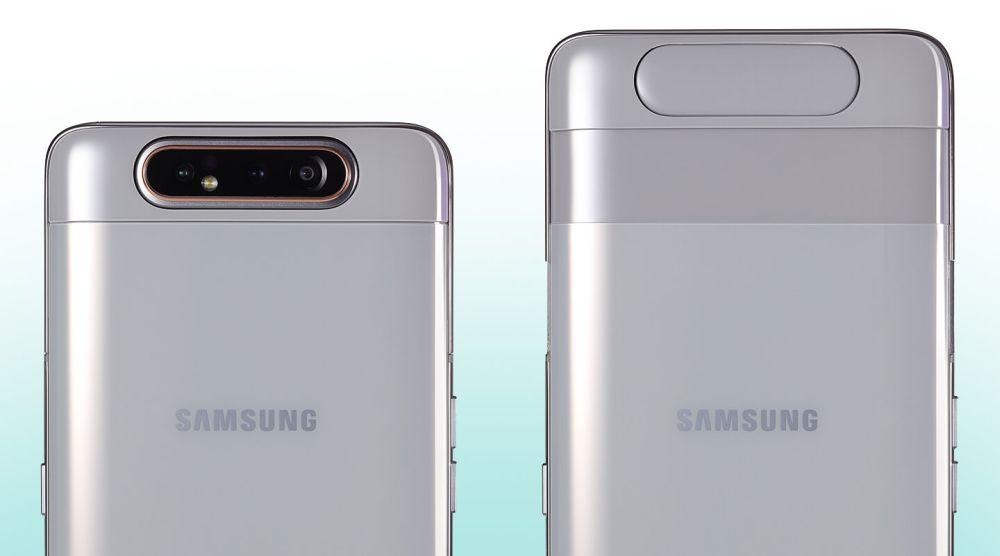 Galaxy A80, arriva il primo smartphone Samsung con fotocamera rotante