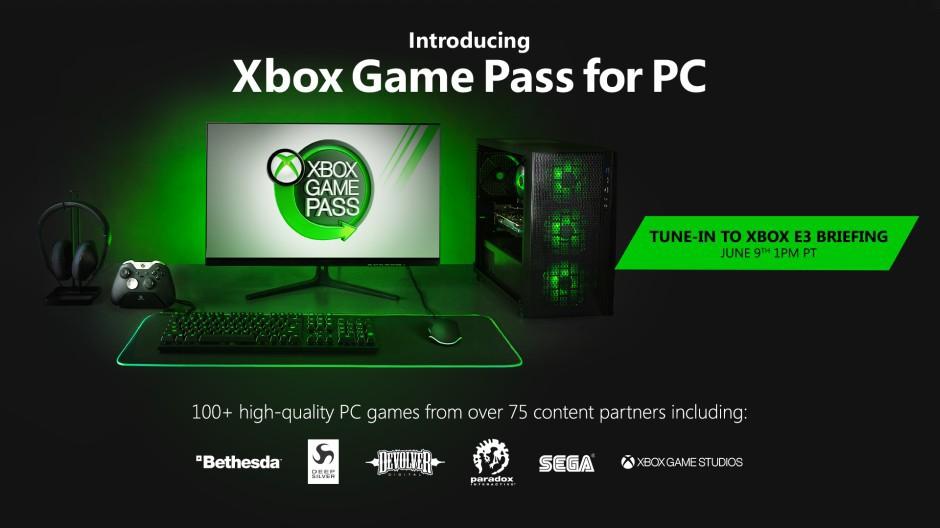 Xbox Game Pass: è ufficiale l'arrivo su PC
