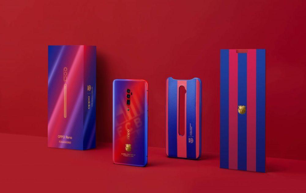 Oppo: arriva la versione Reno FC Barcellona basata su Reno 10x Zoom