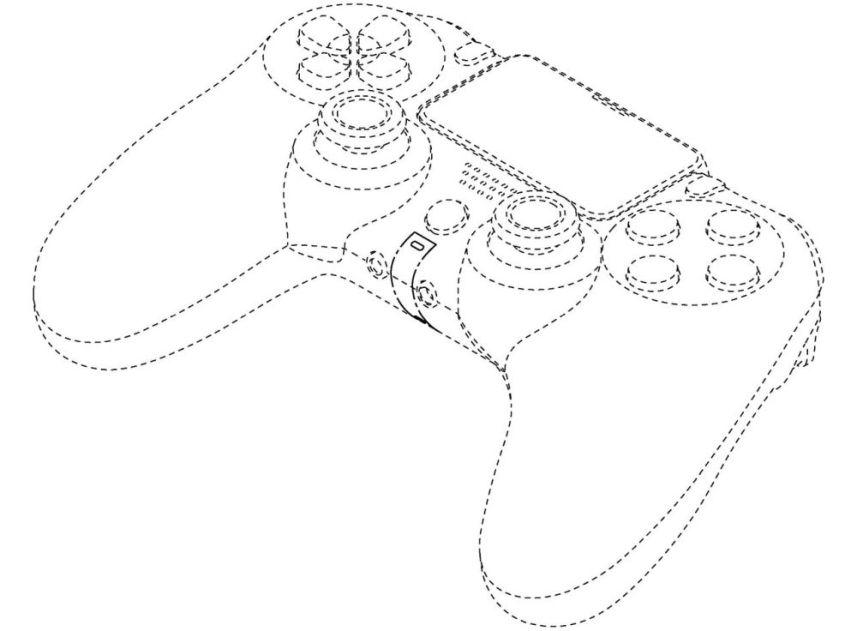 controller PS5 insert