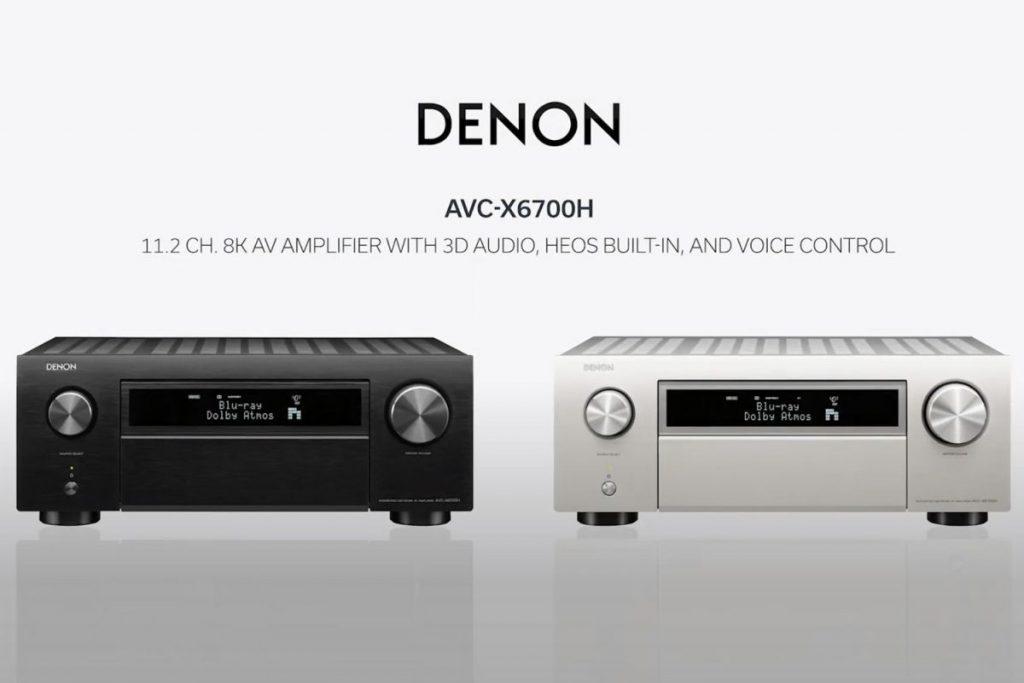 Denon AVC-X3700H e AVC-X6700H: finalmente l'HDMI 2.1