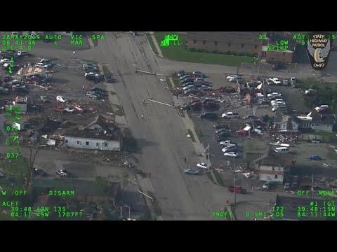 شاهد طائرات ترصد إعصار دوريان ولاية فلوريدا الأمريكية