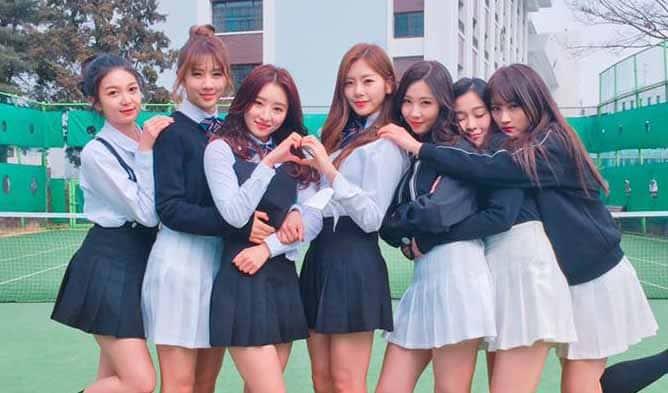 فرقة Dreamcatcher الكورية كيبوب K-pop