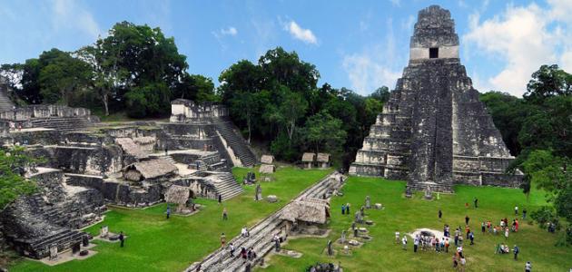حضارة المايا الحضارات الغابرة