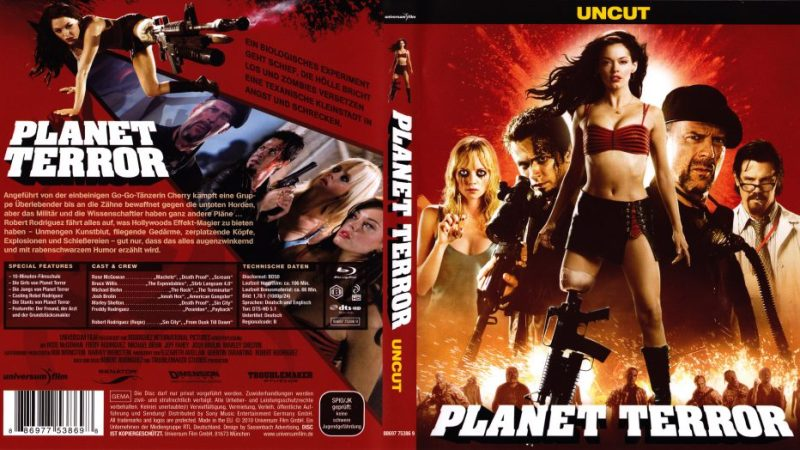 فيلم الاكشن والمغامرة Planet Terror (2007) مترجم