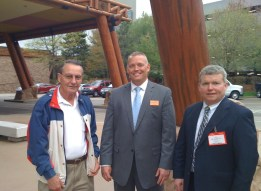 Walter Erickson, AFE Chapter 140 with Dan Webster, Mohegan Sun and Paul Cantrell, AFE New England Region 8 at the facility.