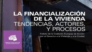 Lee más sobre el artículo Libro sobre la financialización de la Vivienda elaborado por La Coalición Europea