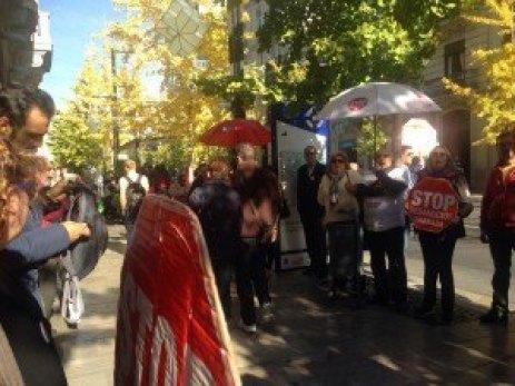 Stop Desahucios Granada 15M. Acción en Cajamar
