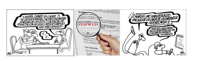 Cómo denunciar las cláusulas de mi hipoteca
