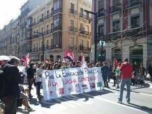 Stop desahucios en la huelga estudiantil 2
