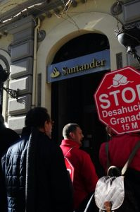 Stop Desahucios en el Santander IV