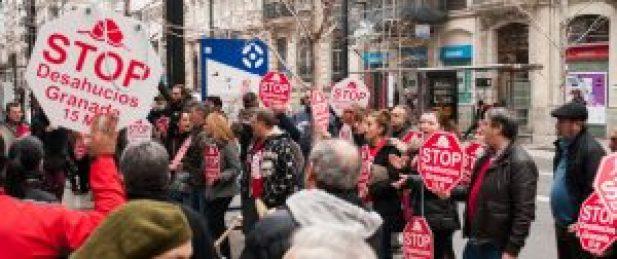 Stop Desahucios Granada 15M en Cajamar