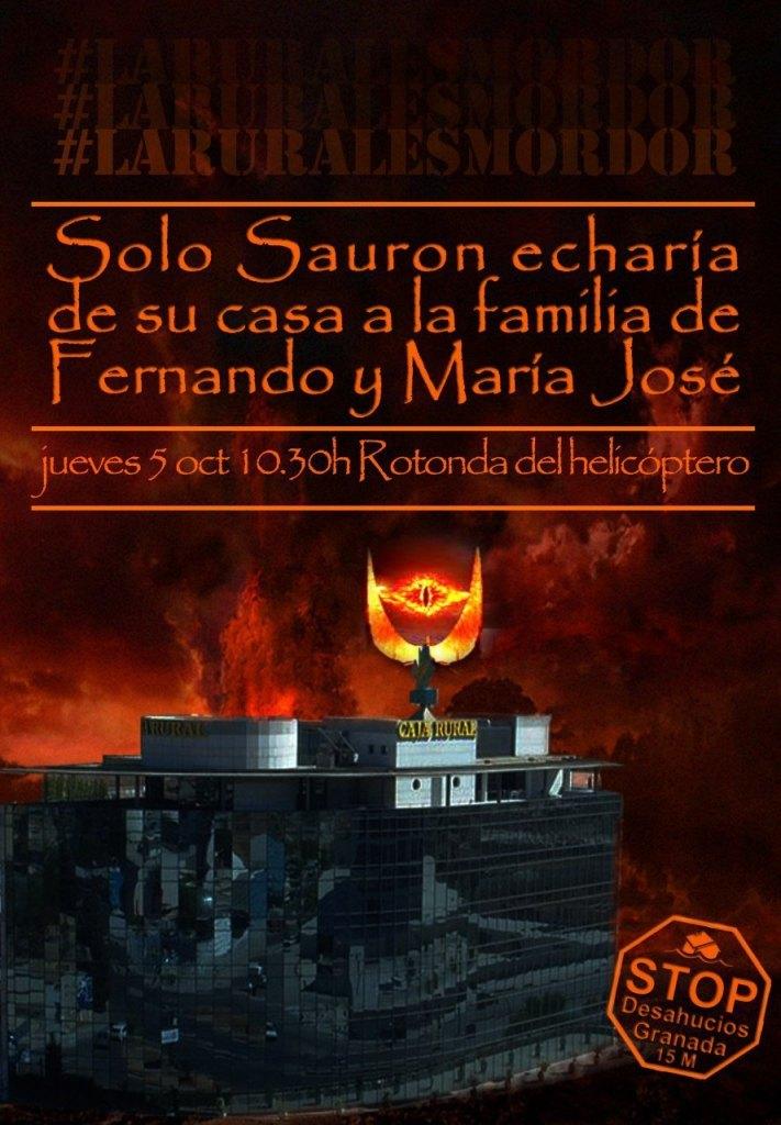 MordoRural. Caja Rural de Granada quiere desahuciar