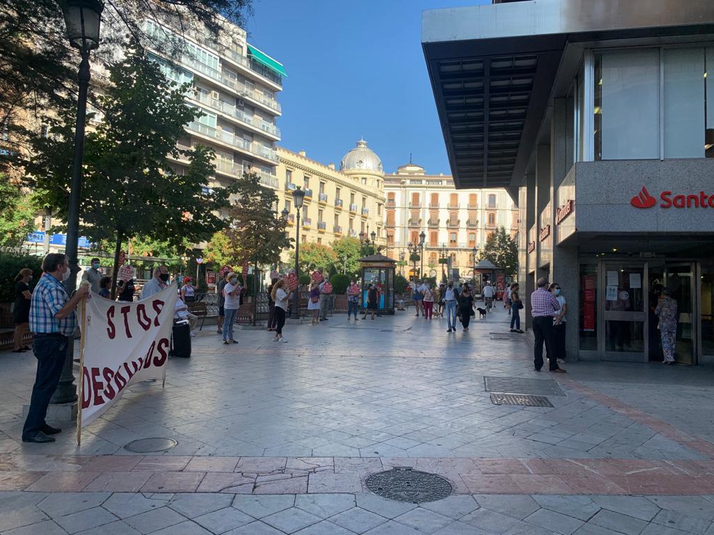 Concentración en el Banco Santander