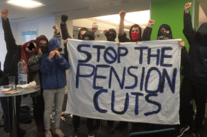 Occupation of Universities UK offices - February 2018