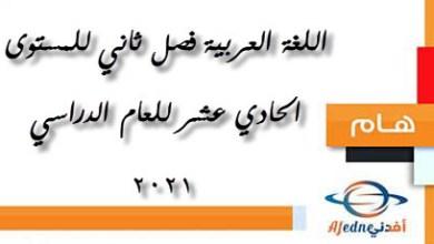 Photo of سلسلة الناجي مجابة في اللغة العربية للحادي عشر الفصل الثاني عام 2021