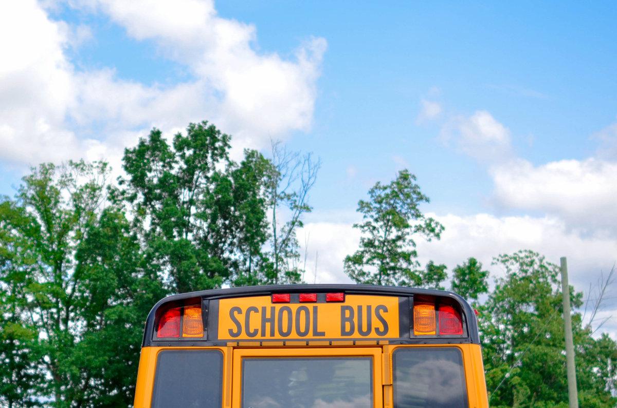 school board school bus