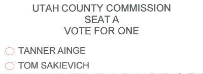 Utah County Commissioner