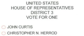 House of Representatives, Utah District 3