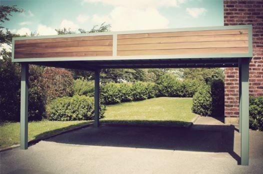 S fabriquer son carport bois for Comfabriquer son abri bois