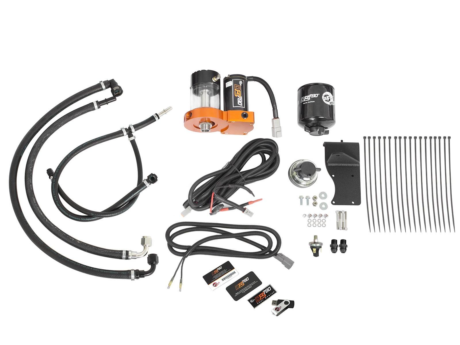 Dfs780 Fuel System