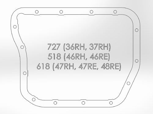 small resolution of transmission pan machined fins afe power36rh transmission diagram 21