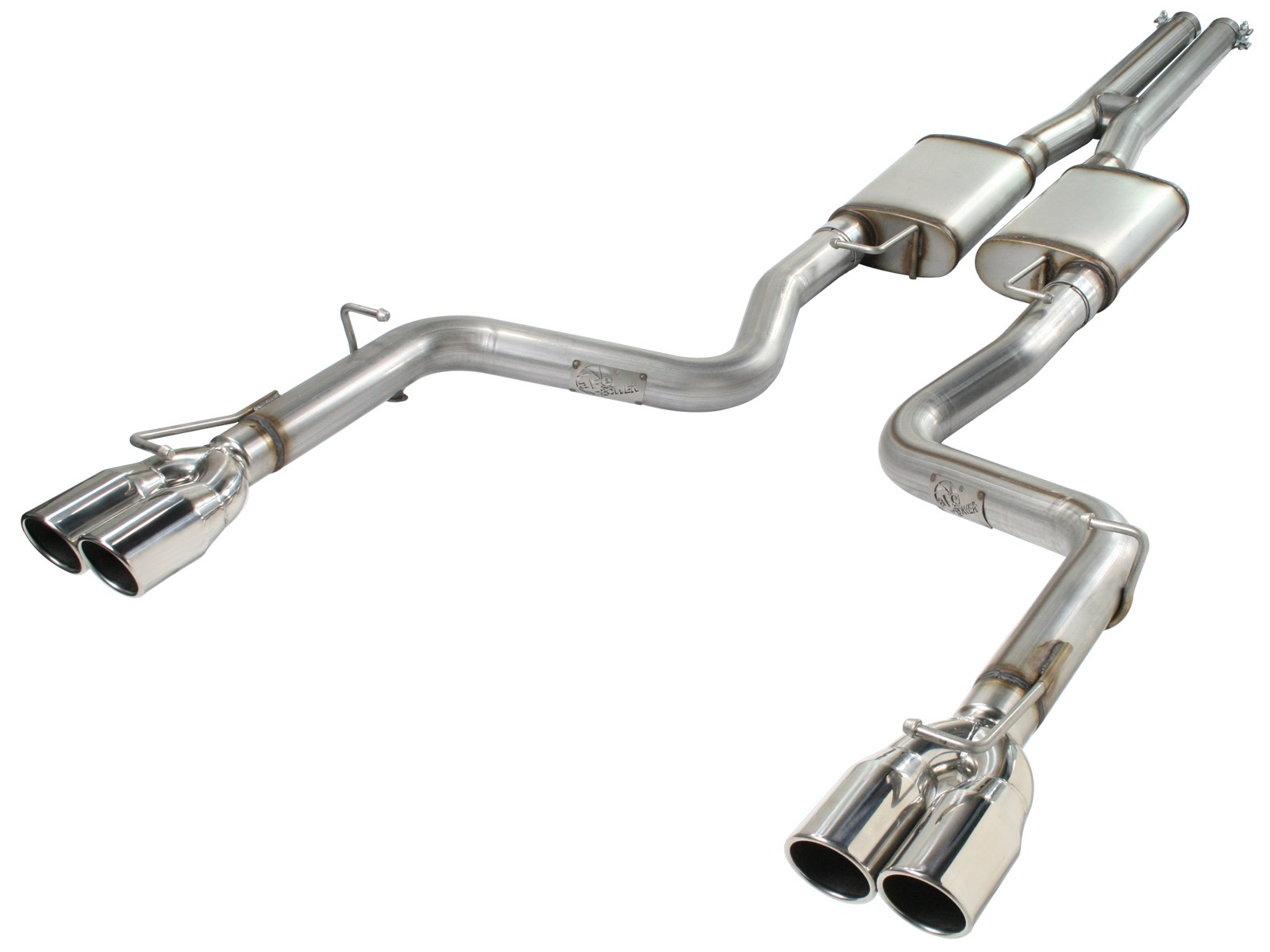 mach force xp 3 409 stainless steel cat back exhaust system