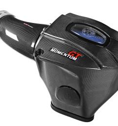 black series carbon fiber cold air intake system w pro 5r filter afe power [ 1600 x 1200 Pixel ]