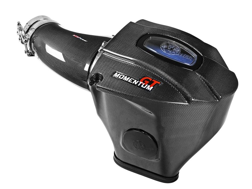 medium resolution of black series carbon fiber cold air intake system w pro 5r filter afe power