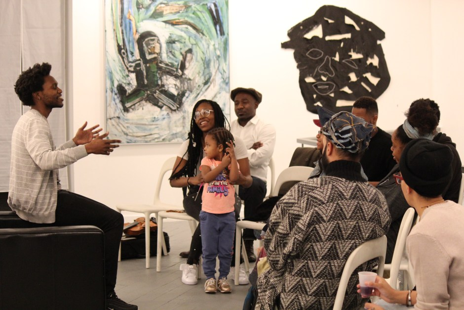 open mic at gallery aferro