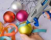 Dremel Christmas Baubles Step 1