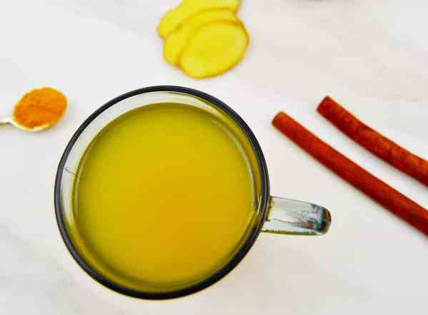 Turmeric Ginger Cinnamon Tea