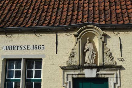 Bruges' version of a (former) storefront church.