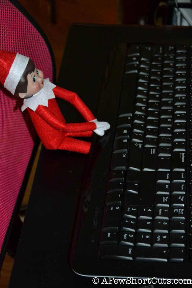 Elf On The Shelf Emailing Santa A Few Shortcuts