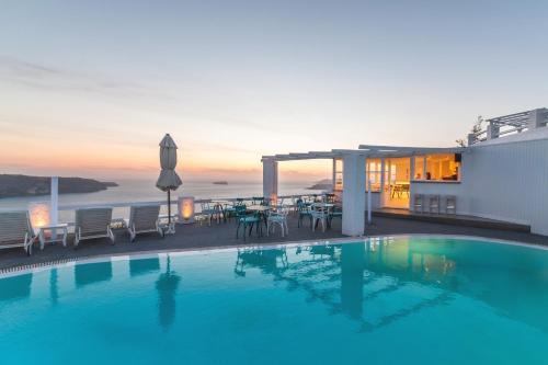Hotels In Megalochori Santorini Justgreece Com