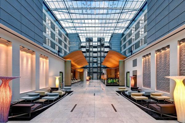 Hilton Frankfurt Airport Hotels Frankfurt Am Main