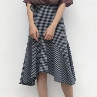 Kamakura Plaid A-Line Skirt