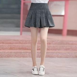 YICON High Waist Pleated Skirt