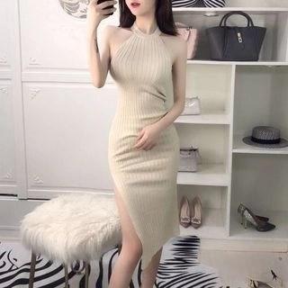 Nancho Off-Shoulder Knit Dress