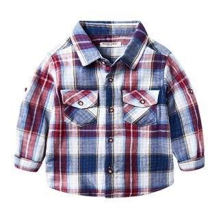 DEARIE Kids Plaid Shirt N/A