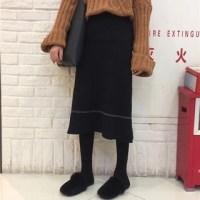 monroll A-Line Midi Skirt
