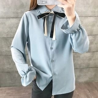 lilygirl Bell-Sleeve Blouse