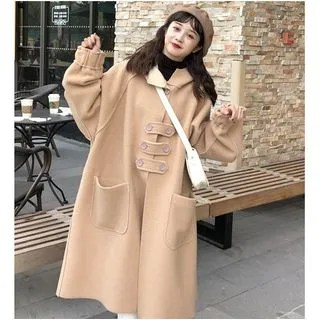 Whoosh Hooded Long Coat