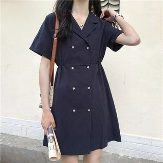 Kamakura Long-Sleeve Shirt Dress