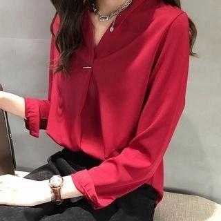lilygirl 3/4-Sleeve Blouse