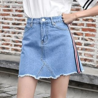 Denimot Denim A-line Skirt
