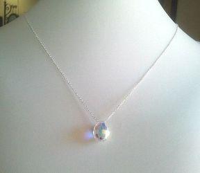 A crystal pendant