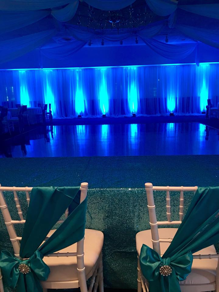 chair cover rentals windsor ontario personalized folding pipe and drape detroit flint mi affairs to remember